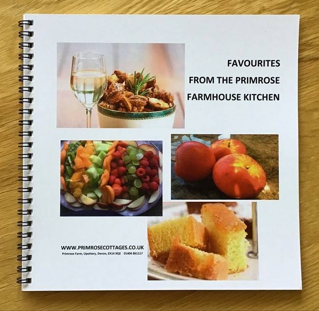Primrose Farm recipe book
