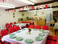 Fully equipped function room for 40