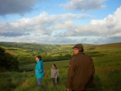 Walking on Exmoor