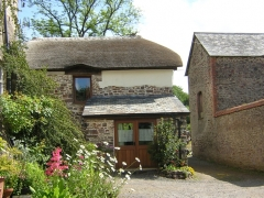 Thatched Cottage in summer