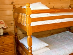 Full size bunks - suitable for adults as well as children
