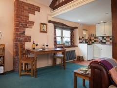 Comfortable open plan accommodation