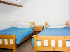 2 twin bedded rooms - ideal for 2 families & groups