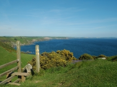 Stunning coast path close by
