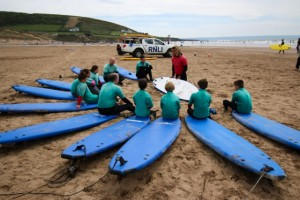 Surf lessons Croyde