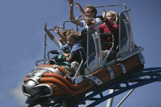 milky way roller-coaster