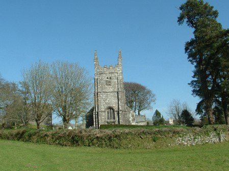St Petrocs church Lydford
