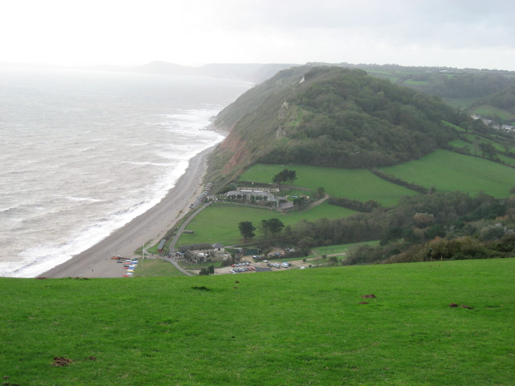 Branscombe Mouth From East Cliff
