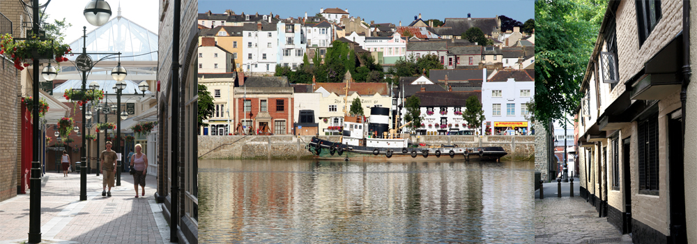 Lots of placing for shopping in North Devon including, Barnstaple, Bideford and South Molton.