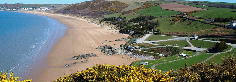 Explore the beautiful beaches in North Devon from the South West Coast Path.
