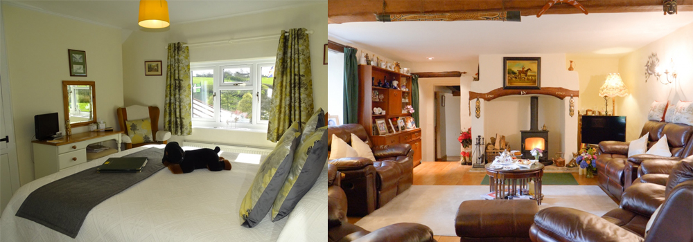 West Down Guest House is a beautiful bed and breakfast in North Devon.